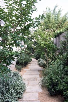 Precious Tips for Outdoor Gardens - Modern Side Garden, Garden Paths, Garden Landscaping, Raised Garden Beds, Garden Art, Back Gardens, Outdoor Gardens, Indoor Outdoor, Outdoor Ideas