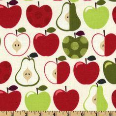 Hoodie's Collection Apple Cream - Discount Designer Fabric - Fabric.com