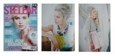 Editoral in this months #Stellar magazine #AW15 #Floralneckpiece #Lovering #Melissacurry