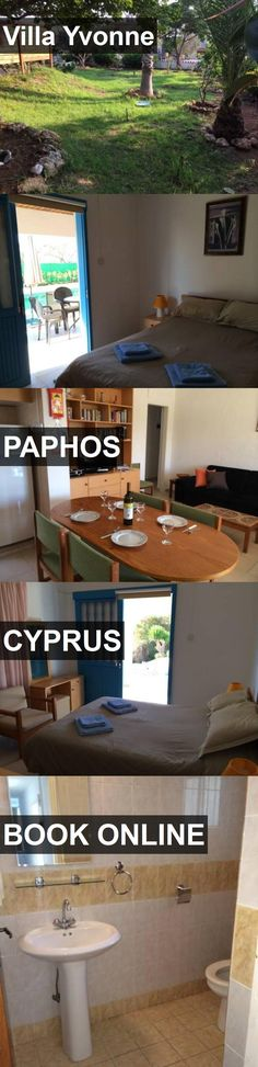 Hotel Villa Yvonne in Paphos, Cyprus. For more information, photos, reviews and best prices please follow the link. #Cyprus #Paphos #travel #vacation #hotel