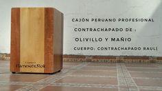 Cajón peruano profesional de Flamentr3lok