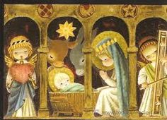 tarjetas de navidad de ferrandiz - Google Search Christmas Nativity, Christmas Past, Christmas Deco, Xmas, Vintage Christmas Cards, Vintage Cards, Vintage Postcards, Holiday Images, Christmas Pictures