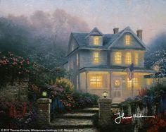 Victorian Evening by Thomas Kinkade