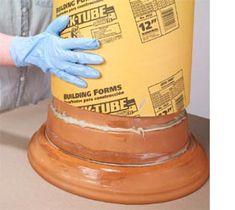 Home-Dzine - Easy decorative faux-stone column