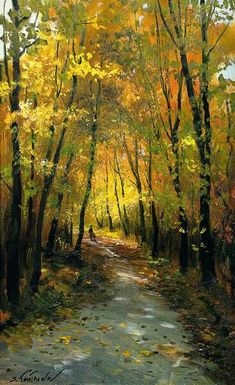 S. Totounov .... makes me want to go for a nice Autumn walk