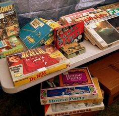 board games at Brimfield