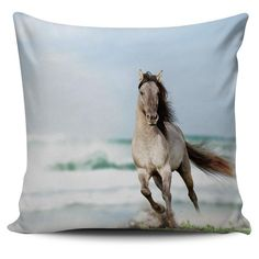 AWESOME 3D PRINTED WILD HORSES PILLOW COVERS - SPECIAL OFFER Wild Horses, Pillow Covers, 3d, Pillows, Printed, Awesome, Animals, Pillow Case Dresses, Animales