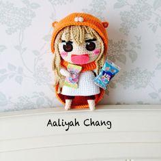 Kawaii Crochet, Crochet Animals, Crochet Toys, Knit Crochet, Crochet World, Knitted Dolls, Amigurumi Doll, Diy Doll, Lana