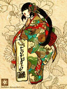 Scorpio Asian print