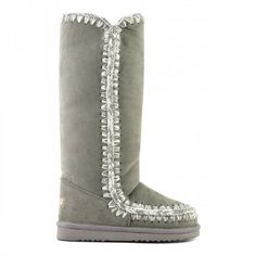d7c226440f7 mou tall eskimo boots new grey - mou outlet