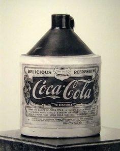 Coca-Cola syrup container. 1906.
