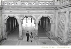 central park engagement, Bethesda Terrace, nyc engagement
