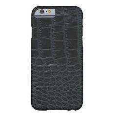 Black Alligator Skin iPhone 6 case http://www.zazzle.com/black_alligator_skin_iphone_6_case-256898387860338820?rf=238675983783752015