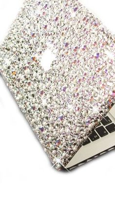 Sliver laptop cover very bling