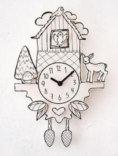 Cool Paper Cuckoo Clock