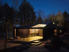 Imagen 7 de 13 de la galería de Cabaña en el Lago / MacLennan Jaunkalns Miller Architects. Fotografía de Ben Rahn/A-Frame