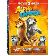 Alpha And Omega Movie 3-Pack (DVD)(Walmart Exclusive) I will need to own this one day!