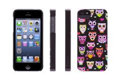 NEW Griffin Techonology iPhone 5 / 5s Wise Eyes Owl Owls Cell Phone Hard Case #GriffinTechnology