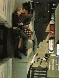 Crazy yet thrilling. Plus kissing lol