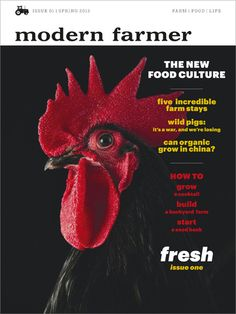 Modern Farmer is an amazing Media Brand that connects you with your food and the loving hands that helped get it to you. Check them out!