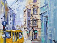 #painting #acrylic #art Paint with me. City corner with acrylic. - YouTube Acrylic Art, Corner, Facebook, City, Videos, Youtube, Painting, Painting Art, Cities