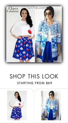 """""""ownthelooks"""" by fatimka-becirovic ❤ liked on Polyvore featuring MANU, blazer and ownthelooks"""