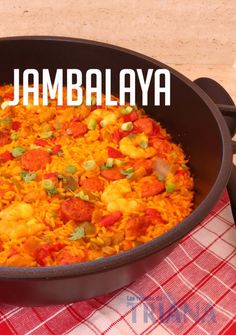 Viajamos hasta Nueva Orleans para probar un guiso de arroz de nombre curios, Jambalaya, que seguro que te va a encantar. Nos dan la receta desde el blog LAS RECETAS DE TRIANA.