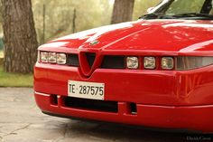 Up Close And Personal With A Most Dramatic Alfa Romeo   Petrolicious