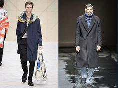 Burberry / Topman oversized clothes LFW AW 14, london fashion week 2014, autumn winter 2014, LFW, fashion collection, fashion trends 2014, t...