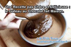 recette pas cher de gateau au chocolat