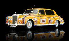 "Click Image Above To Buy: 1965 Rolls Royce Phantom V ""j.lennon"" Diecast Car Model By True Scale Miniatures Beatles Art, The Beatles, Miniature Cars, Rolls Royce Phantom, Emergency Vehicles, Fire Engine, John Lennon, Hot Wheels, Diecast"