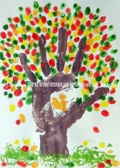 Drawing with palms and fingers in . The Effective Pictures We Offer You About Art Education free A Fall Crafts For Kids, Craft Activities For Kids, Preschool Crafts, Projects For Kids, Fun Crafts, Art Projects, Importance Of Art Education, Leaf Crafts, Autumn Art