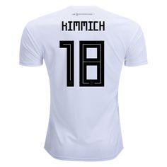 cf446b17868 adidas Joshua Kimmich Germany Home Jersey 2018. Cheap Football ShirtsTeam  ShirtsSoccer ...