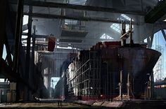 Emmanuel Shiu is a concept artist and matte painter working in the entertainment industry. Emmanuel graduated from California College of the Arts and is now working at ImageMovers Digital. His past projects include films such as After Earth, Sin City, Harry Potter and the Goblet of Fire, Day After Tomorrow, Hellboy and many more.