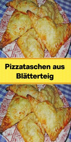Pizzataschen aus Blätterteig Pizza Snacks, Dog Snacks, Party Snacks, Quick Biscuits, Healthy Biscuits, Pizza Ball, British Biscuits, Eating For Weightloss, Party Finger Foods