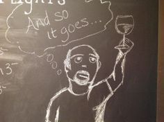 This little guy is gone - and so is the wall he was residing on - and Market Alley Wines is enlarging - come in and share the experience!