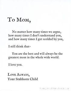 Unique Happy Birthday Mom Quotes & Wishes with Images - BayArt Thank You Mom Quotes, Best Mom Quotes, Happy Mother Day Quotes, Best Quotes For Mother, Love Quotes For Mom, Happy Mothers Day, Mother Qoutes, Momma Quotes, Cousin Quotes