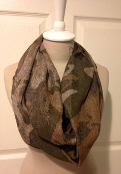 Hey, I found this really awesome Etsy listing at https://www.etsy.com/listing/212058060/camo-infinity-scarf