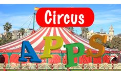 thema circus apps voor kleuters