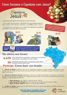 A Capelania com Jesus promove histórias bonitas como essa: Participe você também! Acesse o nosso site horaluterana.org.br/doacaopara doar qualquer valor. A Hora Luterana agradece a sua ajuda!