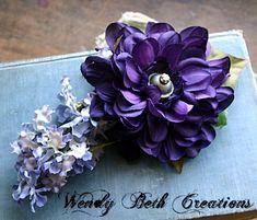 Purple Dahlia, Plum Purple, Lilac Fascinator, Water Bottle Carrier, Tribal Outfit, French Twists, Fascinator Hairstyles, Dragon Eye, Bindi