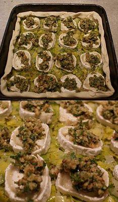 noflik nifelje: Hartige taart met geitenkaas, prei en walnoten