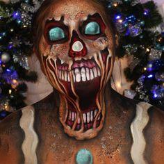 ARTIST   YOUTUBER ☆ Cape Cod MA 📺Twitch TV: jordanhanz 👻Snapchat: jordan_hanz 🐤Twitter: jordanhanz ⠀ ➢YOUTUBE TUTORIALS: Halloween Looks, Halloween Make Up, Halloween Costumes, Halloween Face Makeup, Male Makeup, Sfx Makeup, Jordan Hanz, Christmas Makeup Look, Character Makeup