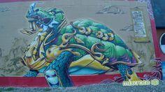 urbanartbomb #graffiti #bombing #graff #streetart - http://urbanartbomb.com/oakland-california-graffiti-train-yard4-estria/ - graffiti - Urban Art Bomb