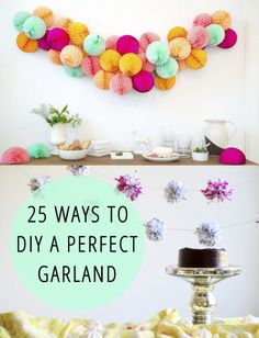 25 Easy Ways To DIY A Perfect Garland