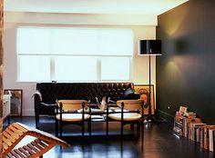 Roseland Greene: White wall, black wall