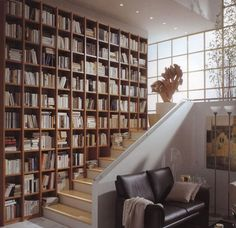 Bookcases and shelves are an important element of home library designs, and you want to create modern interior decorating with attractive and comfortable book storage