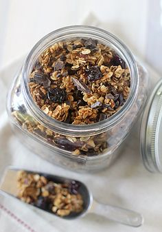 Mocha Cherry Granola - would probably cute down on the sugar and omit the espresso powder.  I'm a purist for cherries and chocolate.