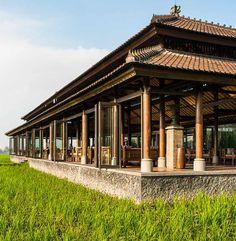 Restaurant at 'The Chedi Club', Ubud, Bali, Indonesia, http://www.beyondvillas.com