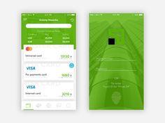 Privat 24 App Redesign by Antony Nosenko